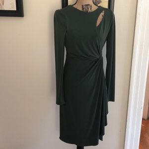 Catherine Malandrino olive dress